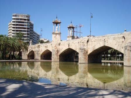 Puente del Mar, Valencia (1592-1596). Fotografia de V.Yepes
