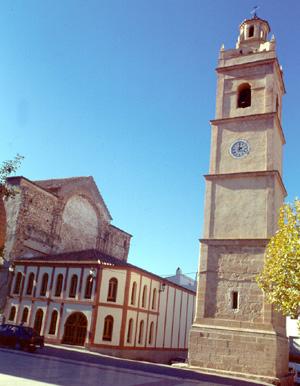Torre esglèsia d'Aiora