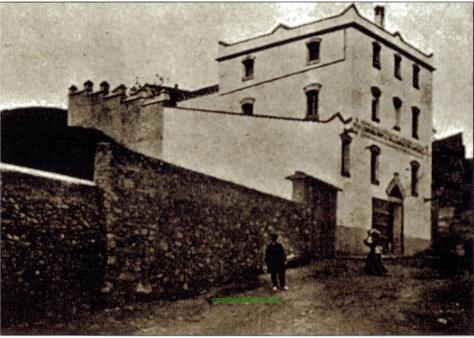 Situació de l'antiga fabrica d'acetilé